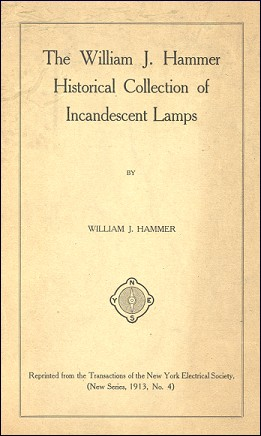 THE WILLIAM J. HAMMER HISTORICAL COLLECTION