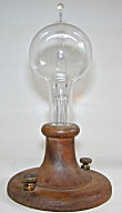 1914 Edison Commemorative lamp